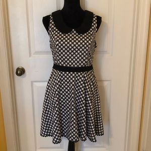 Hot Topic Orphan Black Swing Gingham Gun Dress L